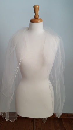 Sandra's Designs Two Tier Fingertip TTTE Veil