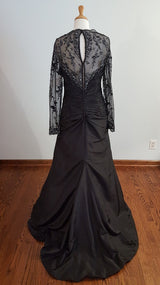 Rina Di Montella Black Dress