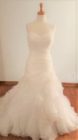 DaVinci Trumpet 50178 Wedding Dress
