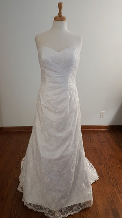 DaVinci A-Line 50155 Wedding Dress