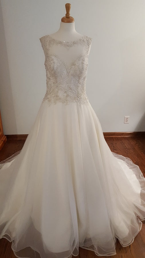 Kenneth Wiston A-Line 1677 Wedding Dress