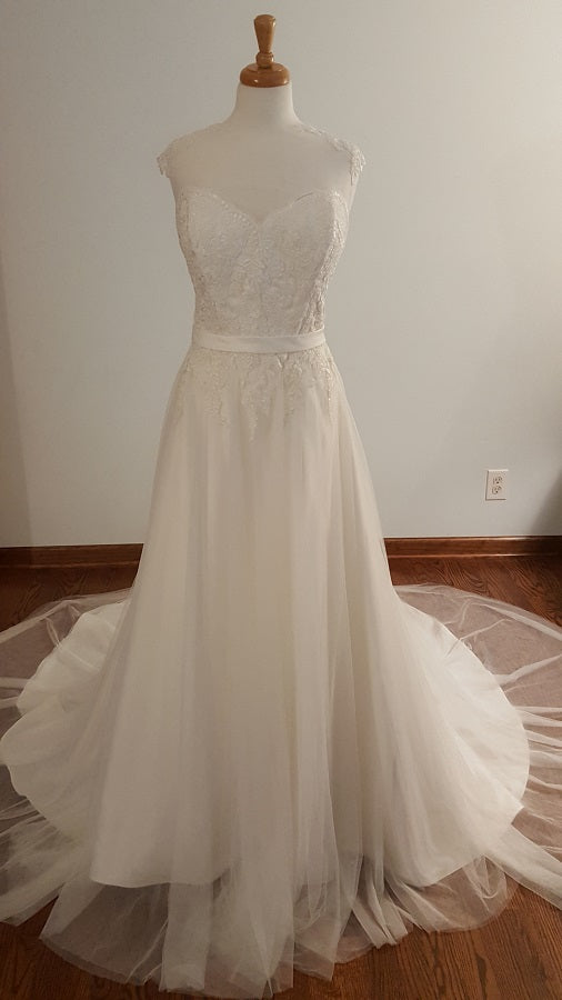 DaVinci A-Line 50419 Wedding Dress