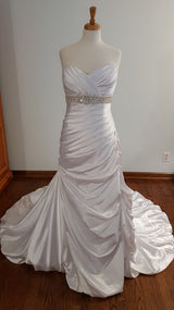 DaVinci Trumpet 50024 Wedding Dress