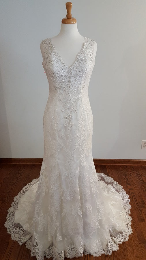 Kenneth Winston A-Line 1617 Wedding Dress