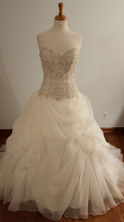 Kenneth Winston Ball Gown 1680 Wedding Dress