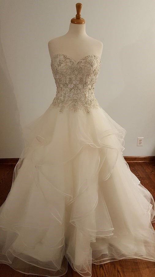 Kenneth Winston Ball Gown 1688 Wedding Dress
