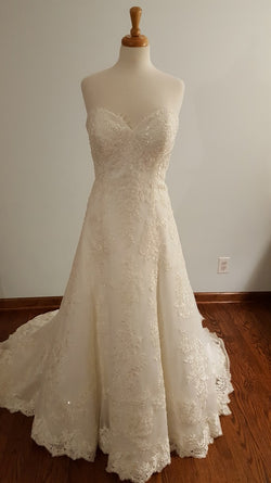 Kenneth Winston A-Line 1643 Wedding Dress