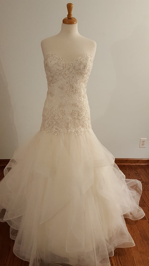W Too Trumpet 16723 Wedding Dress