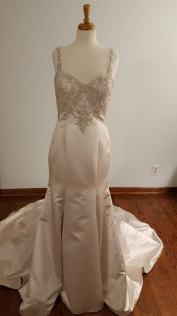 Kenneth Winston A-Line 1607 Wedding Dress