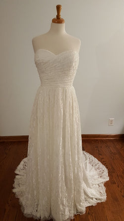 Carrafina A-Line 4160 Wedding Dress