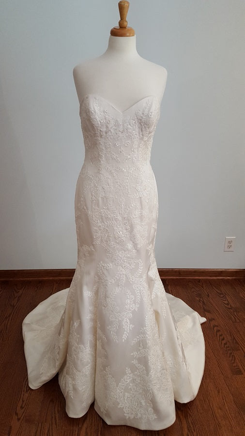 W Too Trumpet 18727 Wedding Dress