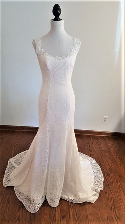 Mikaella A-Line 2000 Wedding Dress