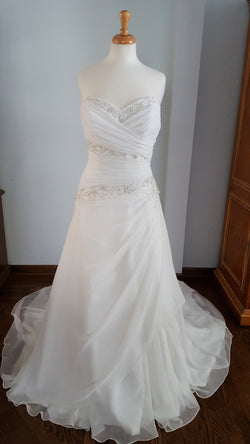 Maggie Sottero A-Line Beaded Wedding Dress