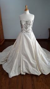 Paloma Blanca Ball Gown