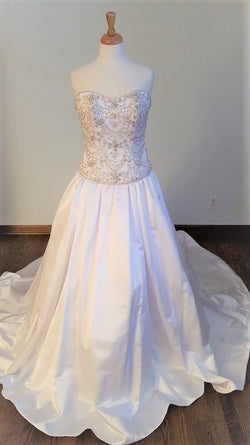 Maggie Sottero Two Peice Ball Gown