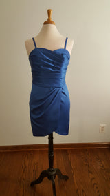 Rolyal Blue Bridesmaid Dress