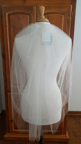Bel Aire V8139 Two Tier Veil