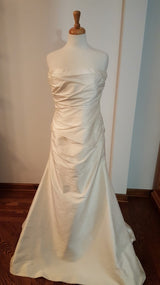 Silk Sheath Wedding Dress