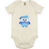 Image of Blu Uggla babybody ekologisk bomull:Babydeals.se:Suggested Products:[availability]