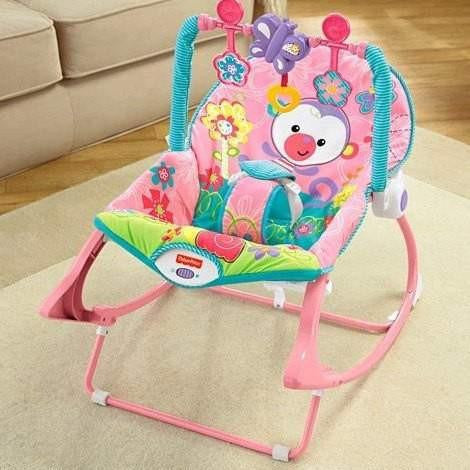 Fisher-Price Infant to Toddler Babystol, Rosa