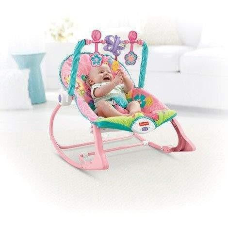 Fisher-Price Infant to Toddler Babysitter, Rosa:Babydeals.se