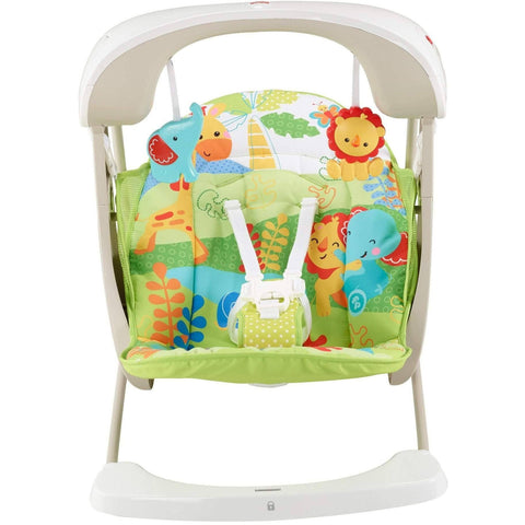 Fisher-Price Rainforest Take Along Swing & Seat, Babystol