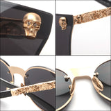 Cat Eyes Skull Sunglasses - Cloud Inc Store