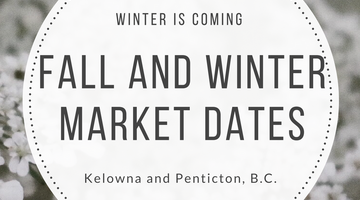 Winter is coming.. which means it's market season!