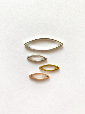 Marquise Studs: Made to Order