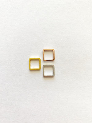 Square Studs: Made to Order