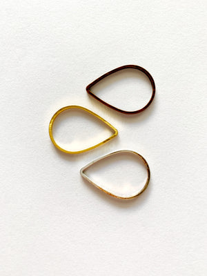Teardrop Studs: Made to Order