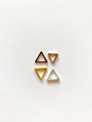 Triangle Studs: Made to Order