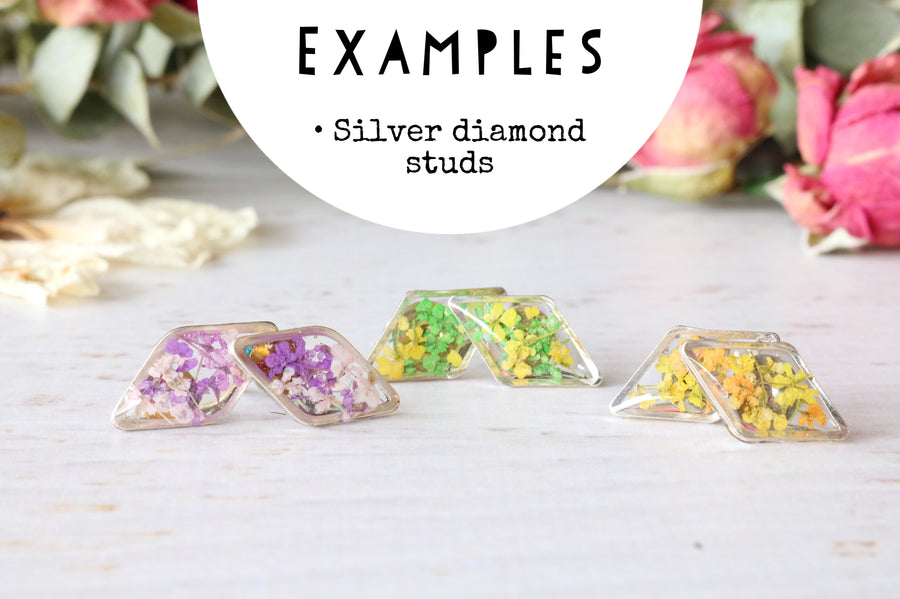 Diamond Studs: Made to Order