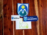 The ULTIMATE Mt. Hood Meadow Sticker Set