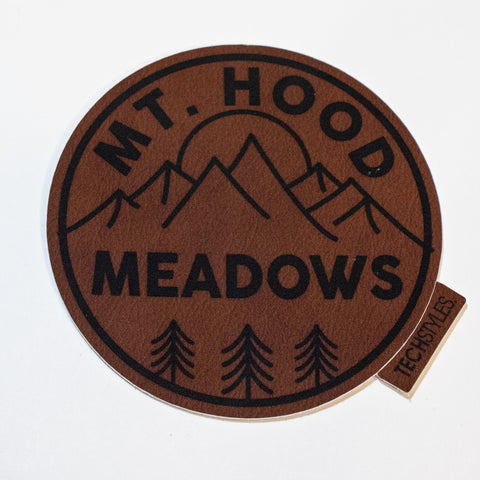 Mt. Hood Circle Sticker