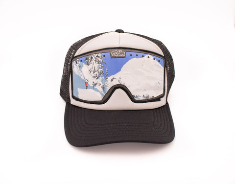 Mt. Hood Goggle Trucker Hat