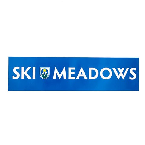 Ski Meadows Sticker