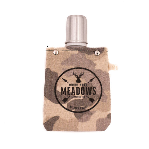 Stag Collapsible Canvas Flask