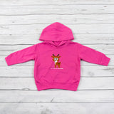 Toddler Hooded Deer Sweatshirt