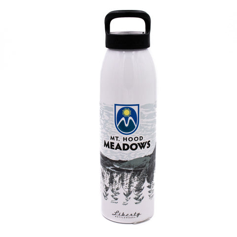 The Easy-Off Water Bottle - White Forest