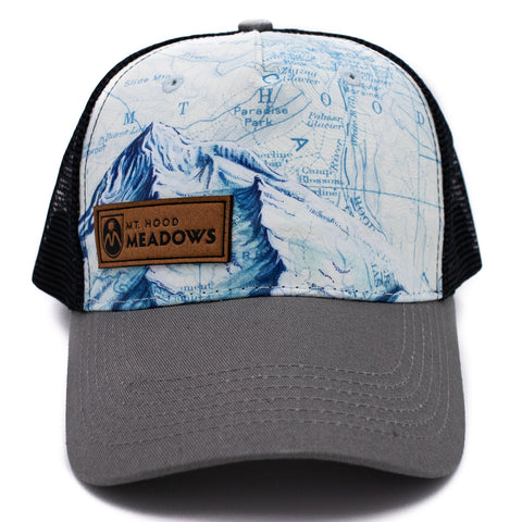 Topology Map Trucker Hat