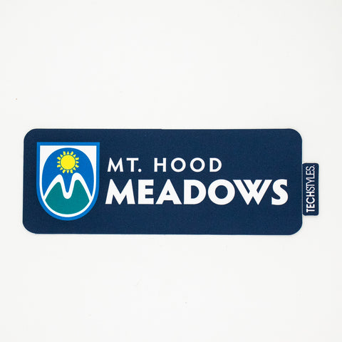 Meadows Navy Sticker