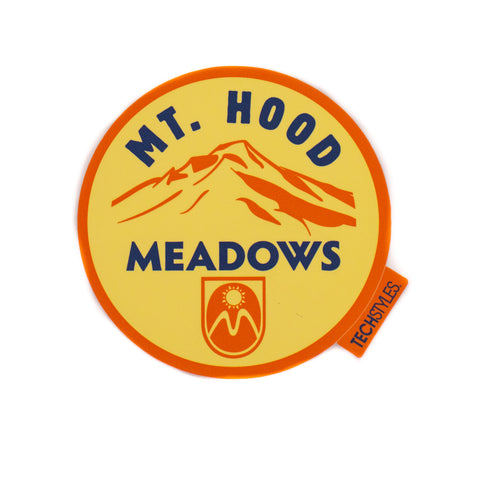 Mt. Hood Meadows Circle Sticker