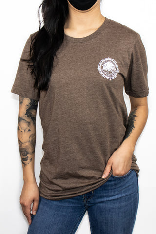The Show Off Tee - Chestnut