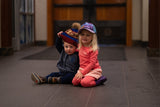 Kids Purple Alpenglow Trucker Hat