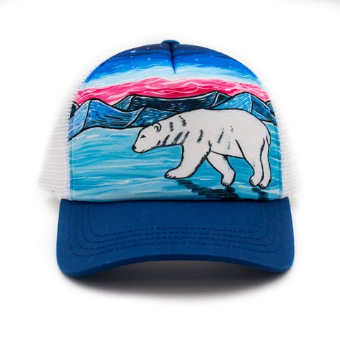 Youth Polar Bear Trucker Hat