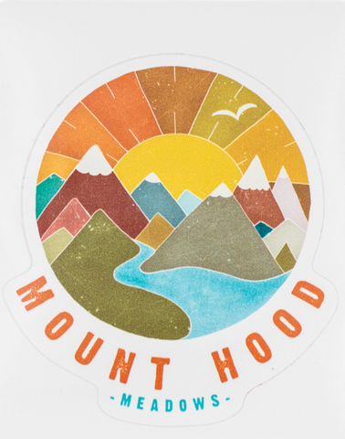 Sunshine Mountain Sticker