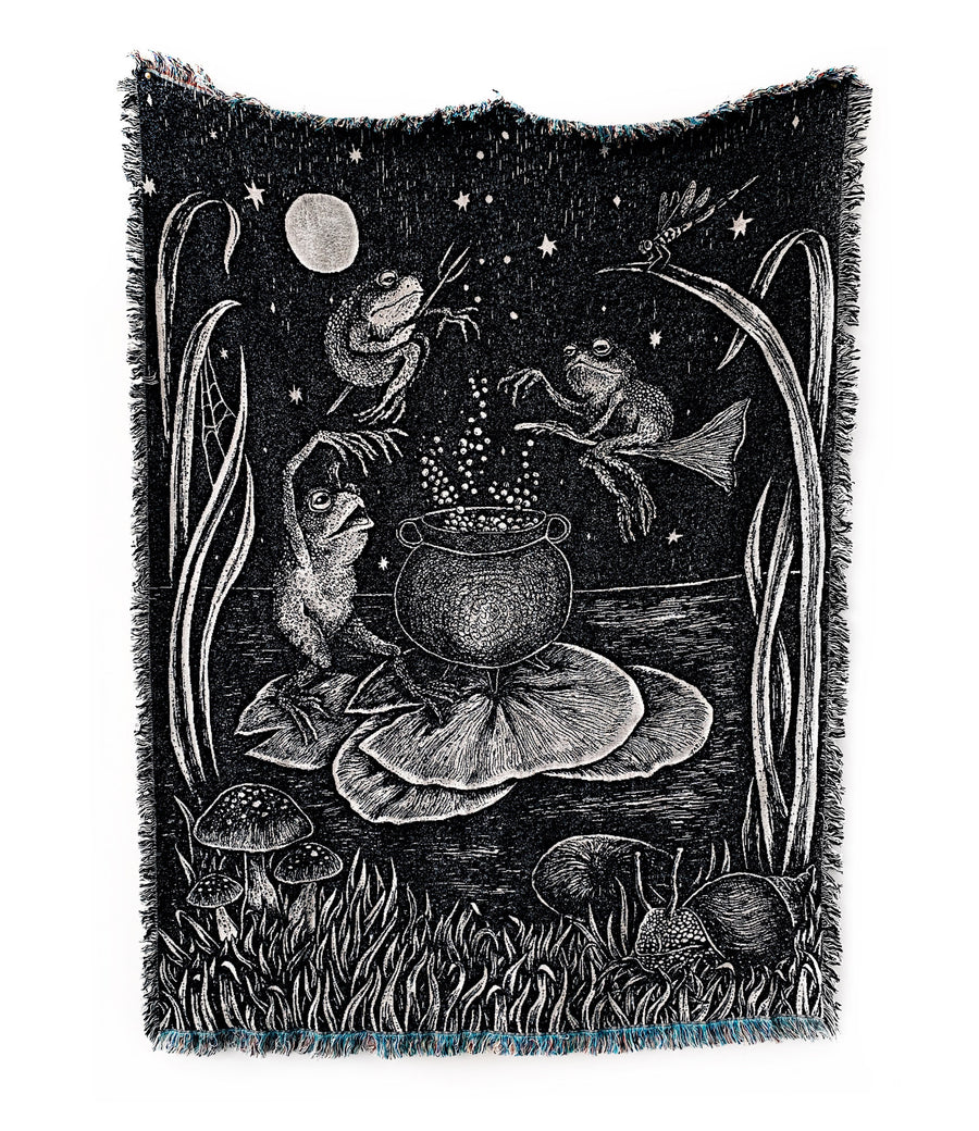 *Pre-Sale* Pond Potions Woven Tapestry Blanket