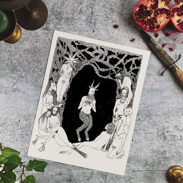 Pan and the Forest Nymphs Fine Art Print