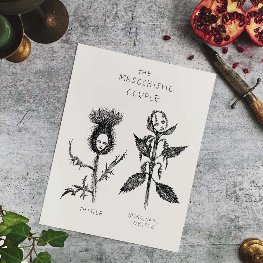 The Masochistic Couple Fine Art Print